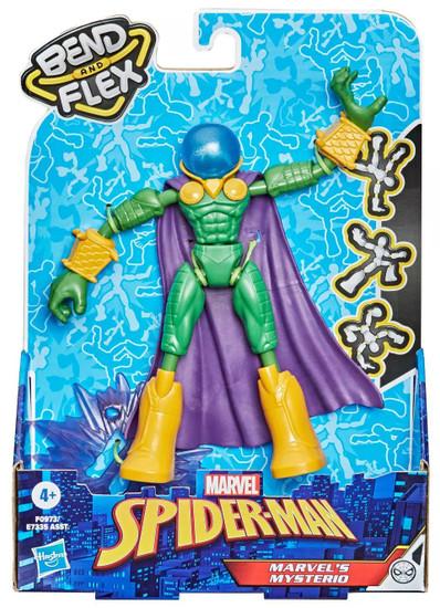 Marvel Spider-Man Bend & Flex Mysterio Action Figure [2021]