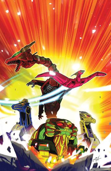 Boom Studios Mighty Morphin #3 Comic Book [Cover B Carlini Legacy]