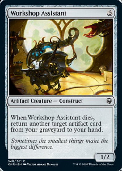 MtG Commander Legends Common Workshop Assistant #348