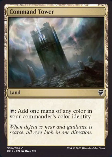 MtG Commander Legends Common Command Tower #350