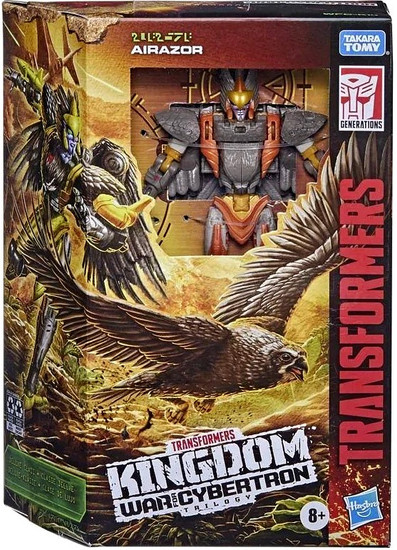 Transformers Generations Kingdom: War for Cybertron Trilogy Air Razor Deluxe Action Figure (Pre-Order ships April)