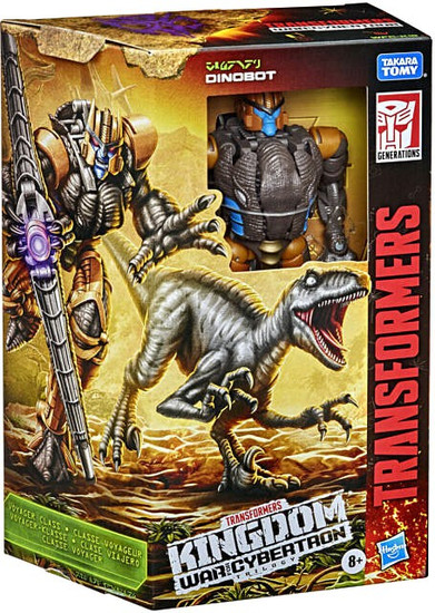 Transformers Generations Kingdom: War for Cybertron Trilogy Dinobot Voyager Action Figure (Pre-Order ships April)