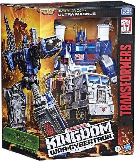 Transformers Generations Kingdom: War for Cybertron Trilogy Ultra Magnus Leader Action Figure (Pre-Order ships April)
