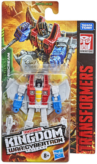 Transformers Generations Kingdom: War for Cybertron Trilogy Starscream Core Action Figure