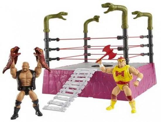 WWE Wrestling Masters of the WWE Universe Rattlesnake Mountain Bundle (Pre-Order ships April)