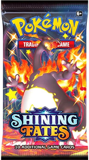 Pokemon Trading Card Game Shining Fates Booster Pack [10 Cards]