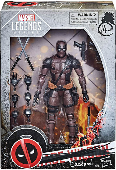 Deadpool Marvel Legends Wade Wilson Exclusive Action Figure [Deadpool]