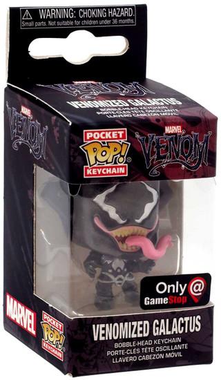 Funko POP! Marvel Venomized Galactus Keychain [Silver]
