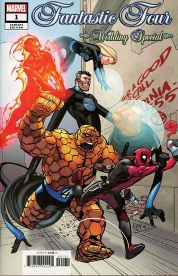 Marvel Fantastic Four: Wedding Special #1C Comic Book