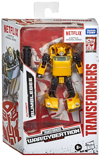 Transformers Generations War for Cybertron: Trilogy Bumblebee Deluxe Action Figure
