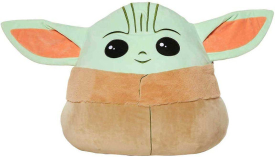 Star Wars The Mandalorian Squishmallows The Child 20-Inch Plush [Baby Yoda, Grogu]
