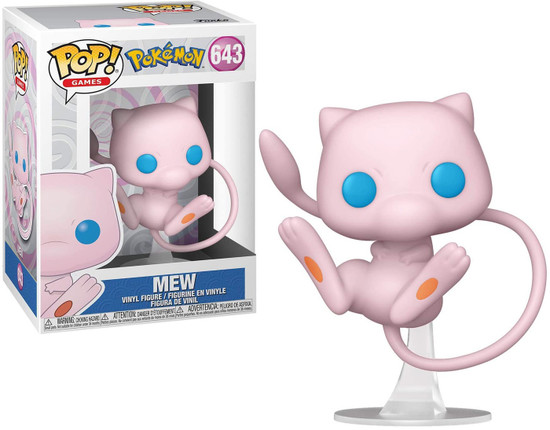 Funko Pokemon POP! Games Mew Vinyl Figure #643