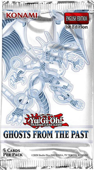 YuGiOh Trading Card Game Ghosts From The Past Booster Pack [5 Cards]