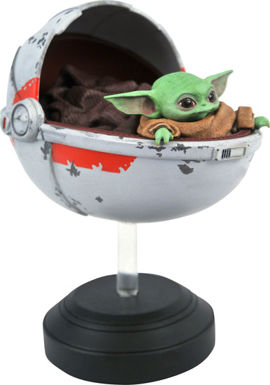 Star Wars The Mandalorian The Child with Pram 1/2 Limited to 3000 Statue (Pre-Order ships June)