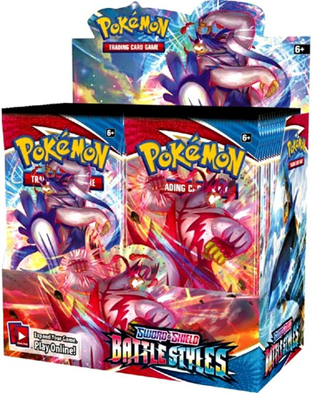 Pokemon Trading Card Game Sword & Shield Battle Styles Booster Box [36 Packs] (Pre-Order ships May)