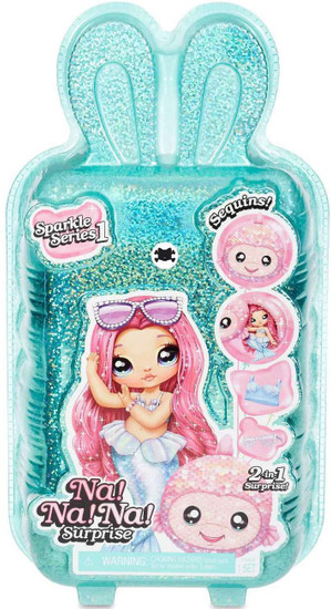 Na! Na! Na! Surprise Sparkle Series 1 Figure [1 RANDOM Fashion Doll & Plush Pom Purse]