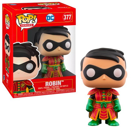 Funko DC Imperial Palace POP! Robin #377 [Regular Version] (Pre-Order ships February)