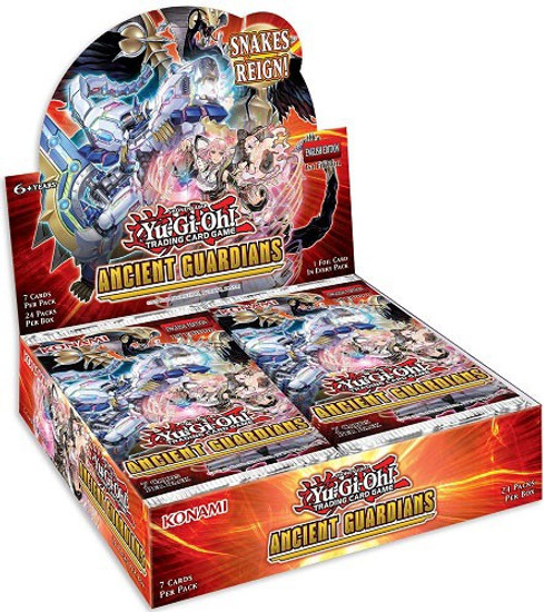 YuGiOh Trading Card Game Ancient Guardians Booster Box [24 Packs] (Pre-Order ships May)