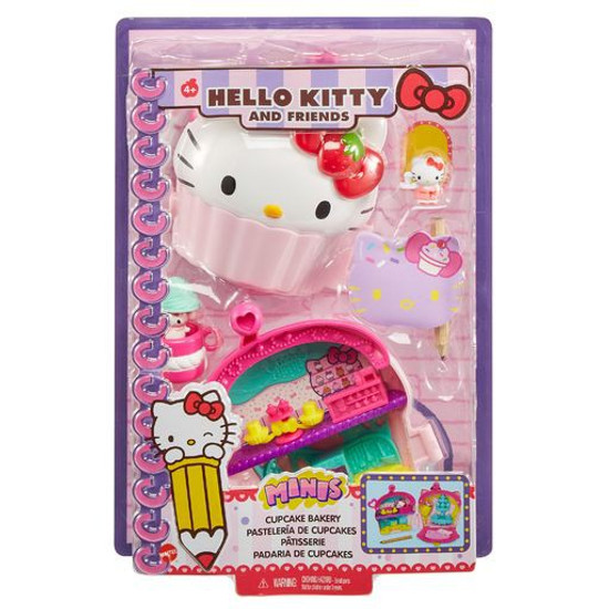 Sanrio Hello Kitty & Friends Cupcake Bakery Wristlet Playset
