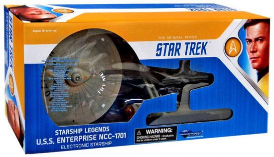 Star Trek The Original Series Starship Legends U.S.S Enterprise NCC-1701 Electronic Starship [HD Edition, 2018, Damaged Package]