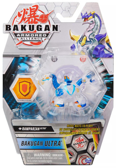 Bakugan Battle Planet Armored Alliance Ultra Diamond Ramparian