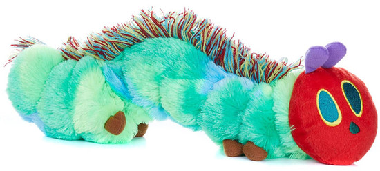 World of Eric Carle The Very Hungry Caterpillar 14-Inch Reversible Plush