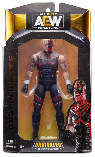 AEW All Elite Wrestling Unrivaled Collection Dustin Rhodes Action Figure