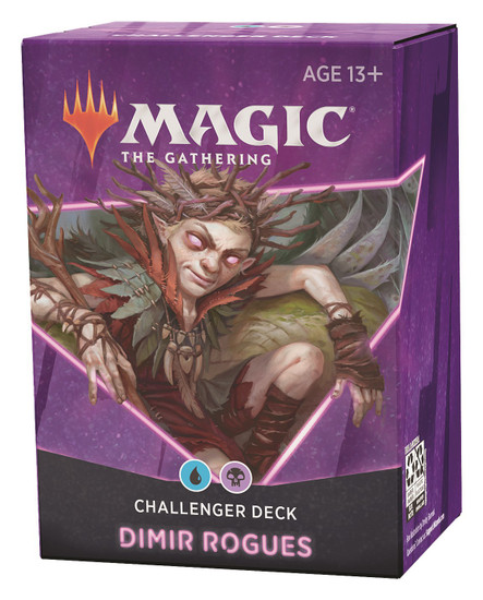 MtG Trading Card Game 2021 Dimir Rogues Challenger Deck