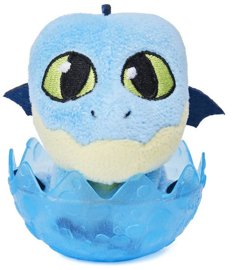 How to Train Your Dragon The Hidden World Baby WInger 3-Inch Egg Plush