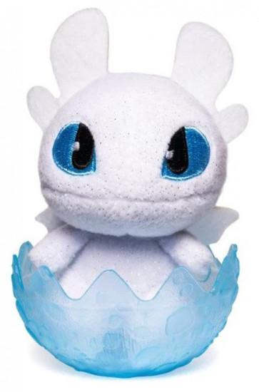 How to Train Your Dragon The Hidden World Baby Lightfury 3-Inch Egg Plush