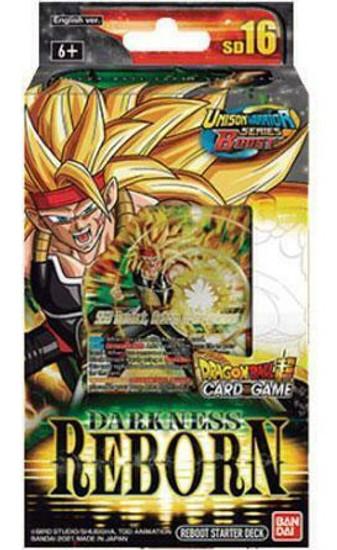 Dragon Ball Super Collectible Card Game Unison Warrior Series 5 Cross Spirits Starter Deck SD16 [SD16] (Pre-Order ships August)