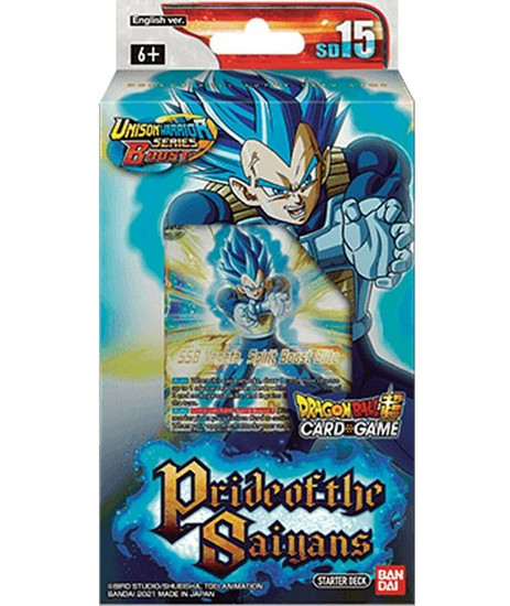 Dragon Ball Super Collectible Card Game Unison Warrior Series 5 Cross Spirits Starter Deck SD15 [SD15] (Pre-Order ships August)