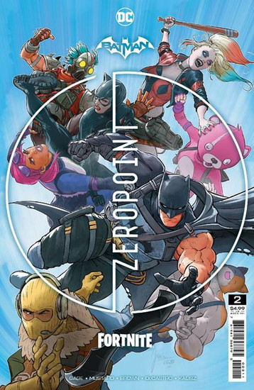 DC Comics Batman / Fortnite Zero Point #2 Main Cover (Mikel Janin) Comic Book [Comes with DC Themed Digital Item Code for Fortnite Game!] (Pre-Order ships May)