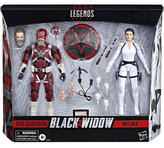 Black Widow Marvel Legends Red Guardian & Melina Vostkoff Action Figure 2-Pack (Pre-Order ships August)