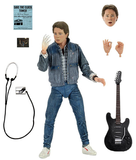 NECA Back to the Future Marty McFly Action Figure [Ultimate Version, 1985 Audition] (Pre-Order ships May)