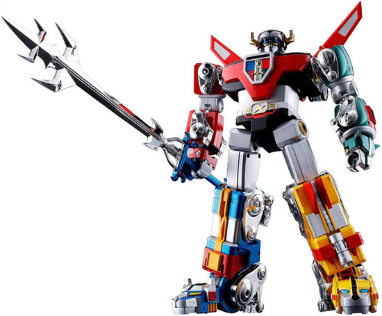 Soul of Chogokin Bandai Spirits Voltron Defender of the Universe Action Figure GX-71 [Reissue] (Pre-Order ships August)