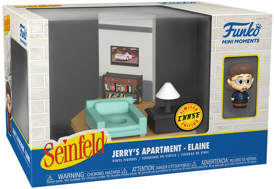 Funko Seinfeld Mini Moments Jerry's Apartment Elaine Diorama [Chase Version] (Pre-Order ships June)