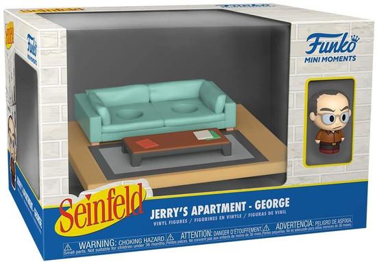 Funko Seinfeld Mini Moments Jerry's Apartment George Diorama [Regular Version] (Pre-Order ships June)