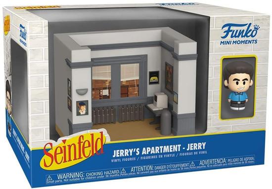 Funko Seinfeld Mini Moments Jerry's Apartment Jerry Diorama [Regular Version] (Pre-Order ships June)