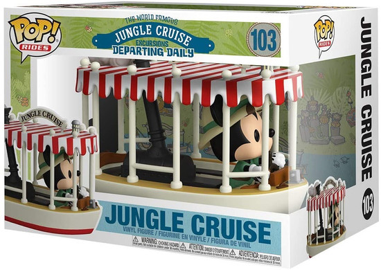 Funko Jungle Cruise Pop! Rides Skipper Mickey Vinyl Figure [with Boat] (Pre-Order ships June)