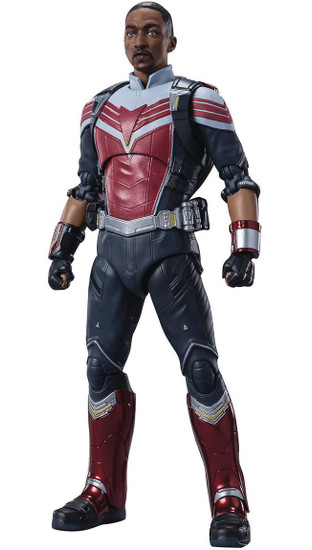 Marvel The Falcon and the Winter Soldier S.H. Figuarts Falcon Action Figure [The Falcon and the Winter Soldier] (Pre-Order ships September)