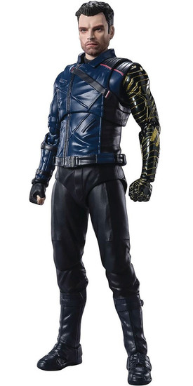 Marvel The Falcon and the Winter Soldier S.H. Figuarts Bucky Barnes Action Figure [The Falcon and the Winter Soldier] (Pre-Order ships September)