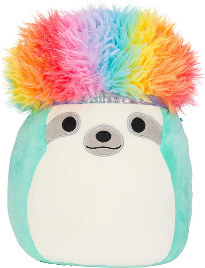 Squishmallows Squish-Doos Aqua the Sloth Exclusive 12-Inch Plush