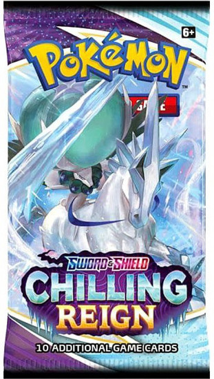 Pokemon Trading Card Game Sword & Shield Chilling Reign Booster Pack [10 Cards] (Pre-Order ships August)