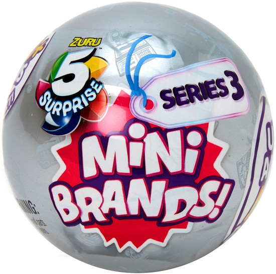 5 Surprise Mini Brands! Series 3 Mystery Pack