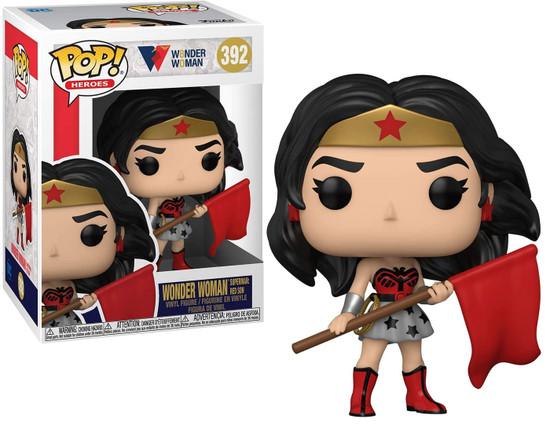 Funko DC Comics Wonder Woman 80th Anniversary POP! Heroes Wonder Woman Vinyl Figure [Superman: Red Son] (Pre-Order ships November)