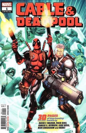 Marvel Cable & Deadpool #1 Annual Comic Book