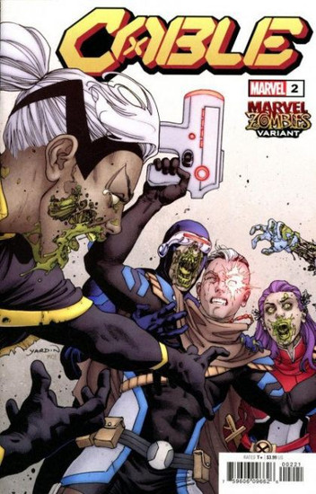 Marvel Cable, Vol. 4 #2 Comic Book [Zombies Variant]