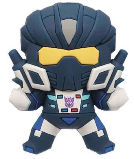 Transformers 3D Figural Bag Clip Series 1 Barricade Minifigure [Exclusive B Loose]
