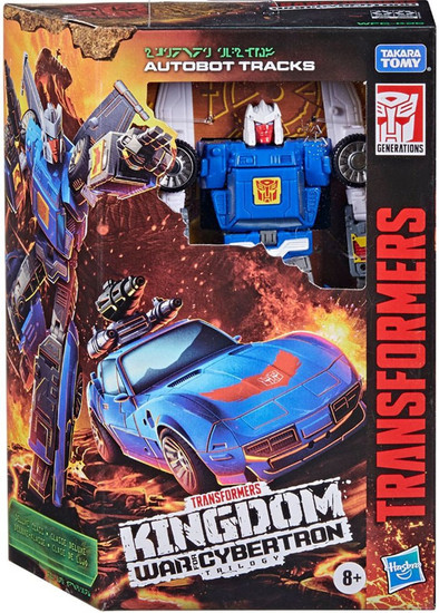 Transformers Generations Kingdom: War for Cybertron Trilogy Tracks Deluxe Action Figure (Pre-Order ships September)